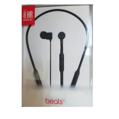 Beats by Dr. Dre  BeatsX Black Wireless In Ear Headphones Bluetooth