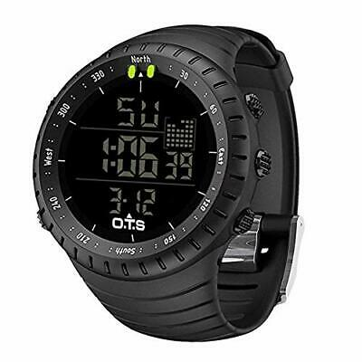 PALADA Men's Digital Sports Watch Waterproof Tactical Watch with LED Backligh...