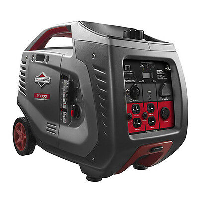 Briggs Stratton P3000 - 2600 Watt Power Smart Series Inverter Generator 030545