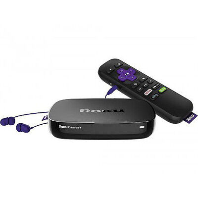 Roku Premiere+ 4K Ultra HDR Streaming Media Player w/ Remote 4630R - 2016 Model