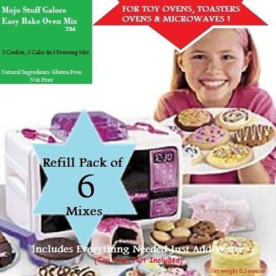 Mix Baking Mixes - Easy-Bake-Refill-Super-Pack-Oven-Mix-6-Mixes-Mojo's-Ultimate-Cookies-Cake