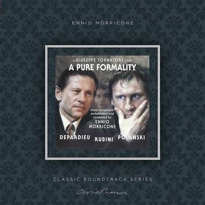 Ennio Morricone - A Pure Formality (original Soundtrack) [New Vinyl LP] Ltd Ed,