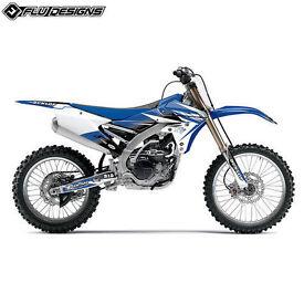 YZ125 YZ250 06-14 Flu Designs PTS 2 Decal Graphics Kit MX Motocross BNIP