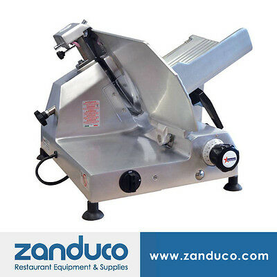 Omcan Aluminum Slicer With 13330mm Blade And 0.5 Hp Ms-it-0330-l