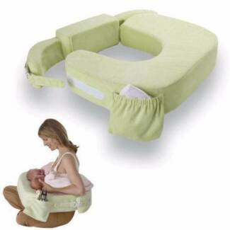 Twins Green My Brest Friend Breastfeeding Nursing Pillow