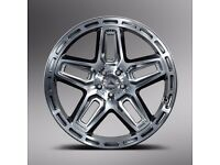 Kahn Mercedes Benz ML Alloy Wheels G06 22 inch set of 4