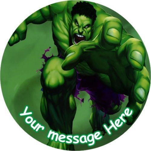 Incredible Hulk Cake Topper Ebay