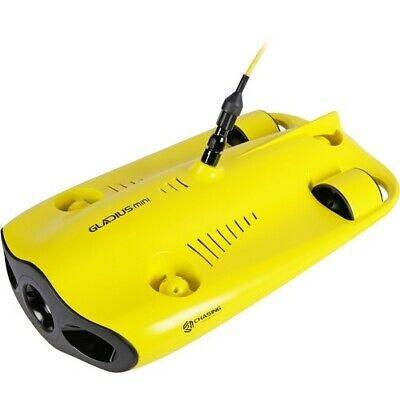 Chasing Gladius Mini-size Underwater Submarine 100ft Tether 4K Videos 110V-240V