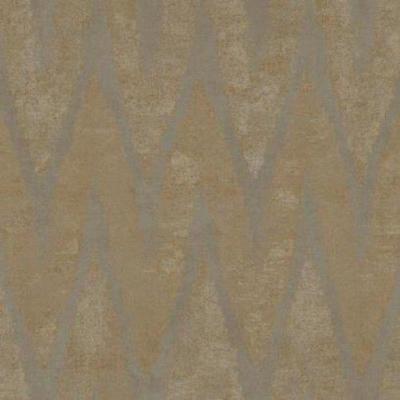 Wallpaper Designer Beige Taupe Tan Chevron Faux