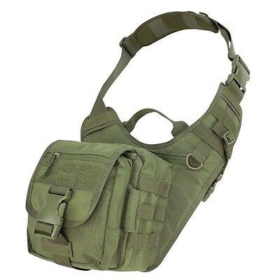 Condor 156 OD Everyday Carry Shoulder Bag MOLLE Modular EDC Tactical Satchel