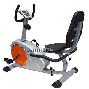 NEW-MAGNETIC-RECUMBENT-EXERCISE-BIKE-HOME-FITNESS-GYM-LCD-HEART-RATE-MONITOR