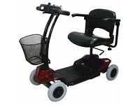 MOBILITY SCOOTER DARK RED/BURGANDY STRIDER
