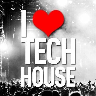 Tech House-All 320kbps Full Length & Unmixed Tracks! 16 GB-Over 1000 Tunes! CDJ!