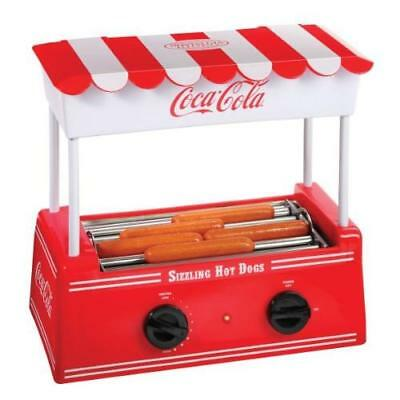Nostalgia Hdr565coke Coca Cola Hot Dog Roller And Bun Warmer New