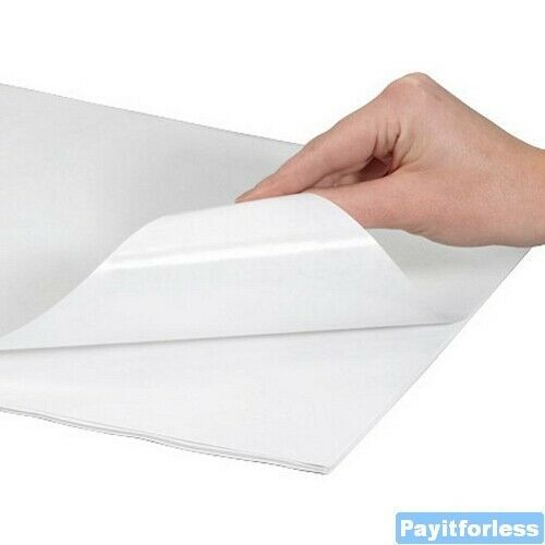 "12"" x 15""  White 40# Freezer Frozen Meat Fish Paper Wrap Sheets"