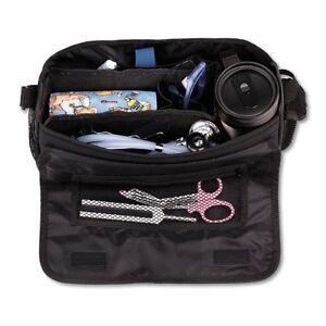 Medical-Supplies-Bag-Nurse-Travel-Nursing-For-Medic-Kit-Tote-Organizer-Bag-Black