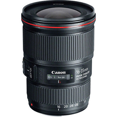 Canon EF 16-35mm f/4L IS USM Lens for Canon Digital SLR Cameras - NEW!