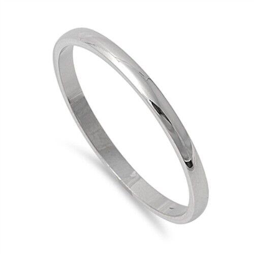 women s ring wedding band tranditional polished