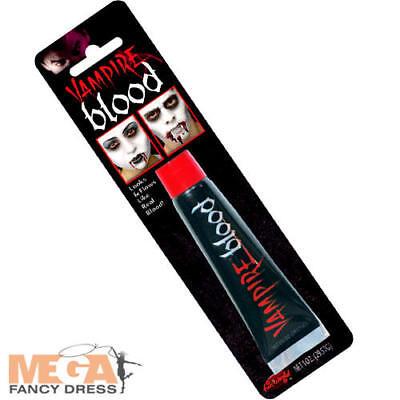 Deluxe Vampire Blood Halloween Fancy Dress Makeup Adults Kids Costume Accessory