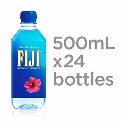 FIJI Natural Artesian Water 16.9 Fl Oz Pack of 24