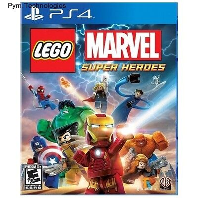 Ps4 LEGO Marvel Super Hero PlayStation 4 Best Kids Childrens Fun PS4 Games (Best Lego Game Ps4)
