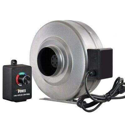 Ipower 4 Inline Duct Ventilation Fan Variable Speed Controller