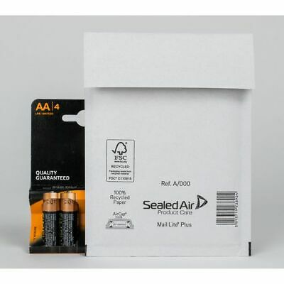 Sealed Air A/000 Mail Lite Plus Mailing Bags 160 x 110 mm Box 100