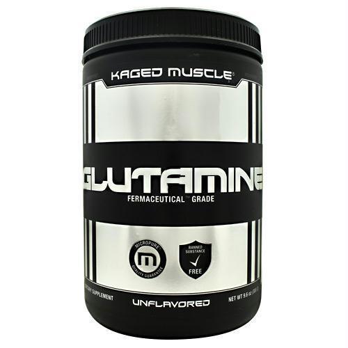 KAGED MUSCLE – L-Glutamine Powder – 300 Gram – 60 Serv