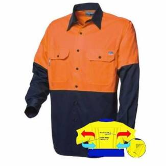 2 sets of brand new tradie shirts and pants