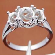 White Gold Setting