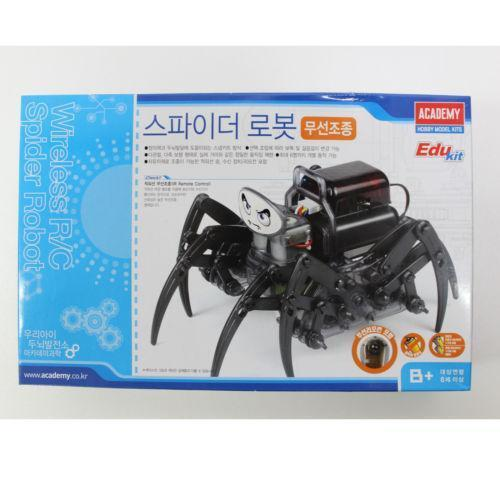 how to make a remote control robot spider
