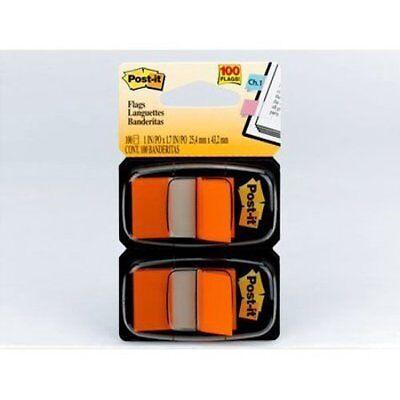 Orange Post-it Standard Marking Flag Removable Self-adhesive 1 X 1.75 100 Ct