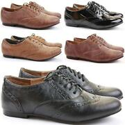 Ladies Brogues Size 6