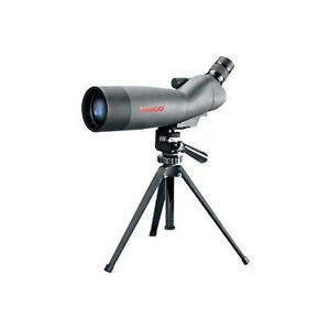 New Tasco 20-60x 60mm Fully Coated Angled Spotting Scope with Tripod WC712060