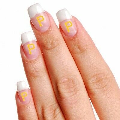 MLB Pittsburgh Pirates 4-Pack Temporary Nail Tattoos ](Pittsburgh Pirates Tattoos)
