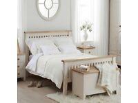 King side wooden bed