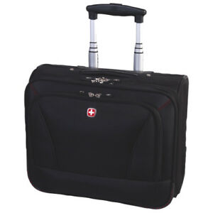 "Swiss Gear 15.6"" Business Travel Roller Case (lightly used)"