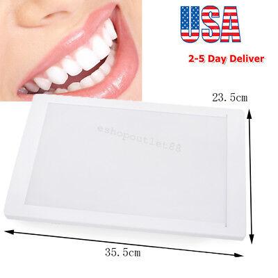 Dental X-ray Film Illuminator Light Box Viewer 118.5 View Area Machine Us Fda