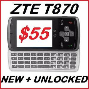 NEW 3G ZTE GLIDE T870 UNLOCKED O484 189 733 $55 Castle Hill The Hills District Preview