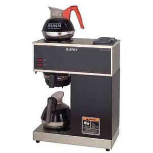 Bunn 33200.0000 VPR Commercial 12-Cup Pour-Over Coffee Brewer ~ Free Shipping