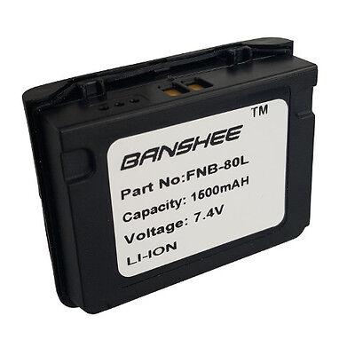Fnb 80Li Battery For Yaesu Vertex Vx 5R Vx 6R Vx 7R   18 Month Warranty