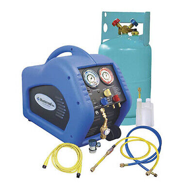 Mastercool 69100 Complete Ac Recovery Unit Blue