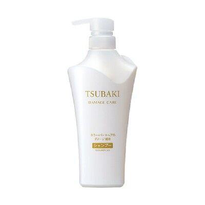 NEW!! JAPAN Shiseido TSUBAKI Damage Care Shampoo white 500ml / Japan import
