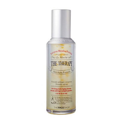 [The FACE Shop] The Therapy Oil Drop Anti-Aging Serum 45ml