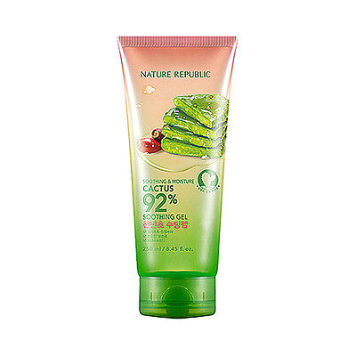 NATURE REPUBLIC Soothing Moisture Cactus 92% Soothing Gel - 250ml (Tube)
