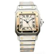 Cartier Mens Gold Watch