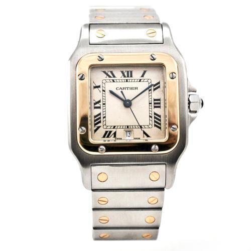 Cartier Mens Gold Watch | eBay