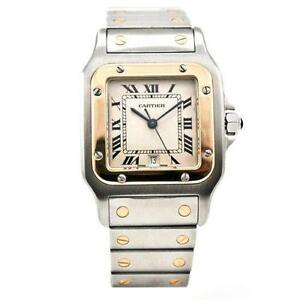mens cartier watch cartier mens gold watch