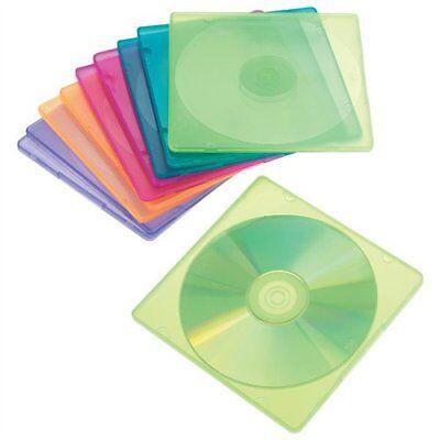 Innovera 81910 Slim Cddvd Jewel Case - Jewel Casepolypropylene - Blue Green