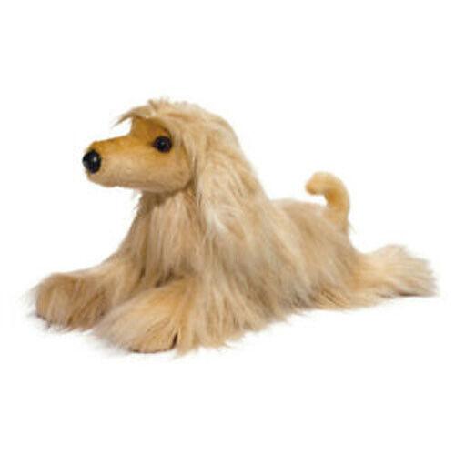 """New DOUGLAS CUDDLE TOY Stuffed Soft Plush Animal AFGHAN HOUND Puppy Dog 20"""""""